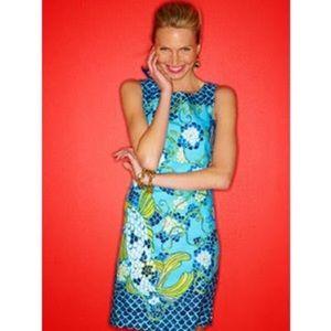 Lilly Pulitzer Stephanie Shift Dress Don't be Koi